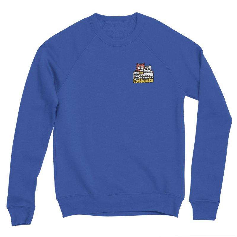 Catbeats - Pocket Print Men's Sponge Fleece Sweatshirt by Swedish Columbia's Artist Shop