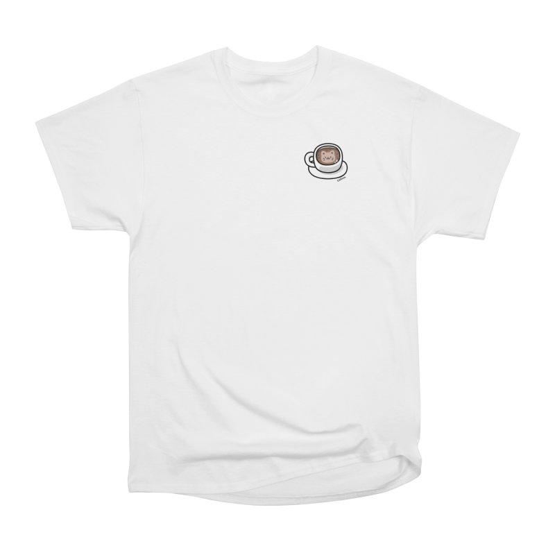 Catuccino — Cat cappuccino Men's Heavyweight T-Shirt by Swedish Columbia's Artist Shop