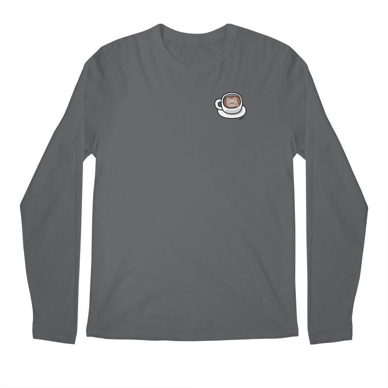 Catuccino — Cat cappuccino Men's Longsleeve T-Shirt by Swedish Columbia's Artist Shop