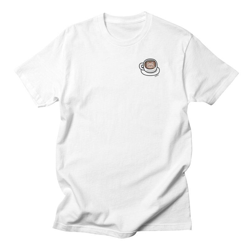 Catuccino — Cat cappuccino Men's Regular T-Shirt by Swedish Columbia's Artist Shop