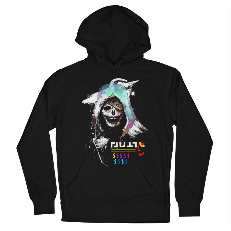 El Huervo - Death's Head Women's French Terry Pullover Hoody by Swedish Columbia's Artist Shop