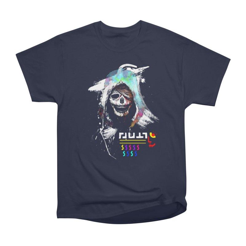 El Huervo - Death's Head Women's Heavyweight Unisex T-Shirt by Swedish Columbia's Artist Shop