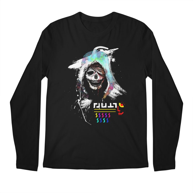 El Huervo - Death's Head Men's Regular Longsleeve T-Shirt by Swedish Columbia's Artist Shop