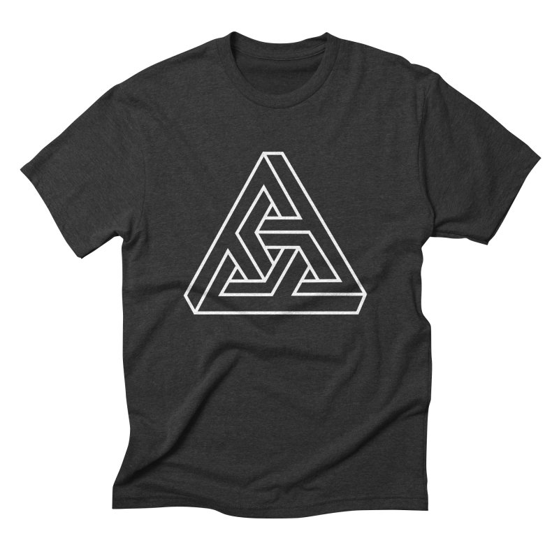 Triobelisk - Tri Men's Triblend T-Shirt by Swedish Columbia's Artist Shop