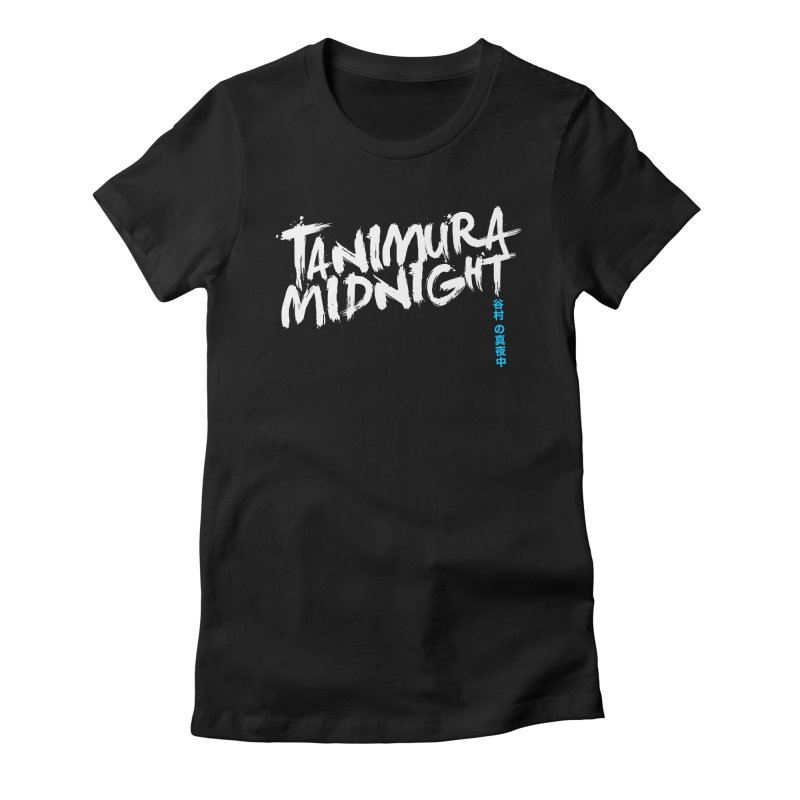 Tanimura Midnight - Logo Women's Fitted T-Shirt by Swedish Columbia's Artist Shop