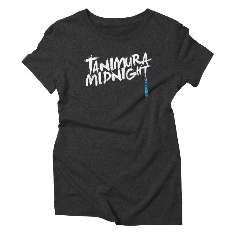 Tanimura Midnight - Logo Women's Triblend T-Shirt by Swedish Columbia's Artist Shop