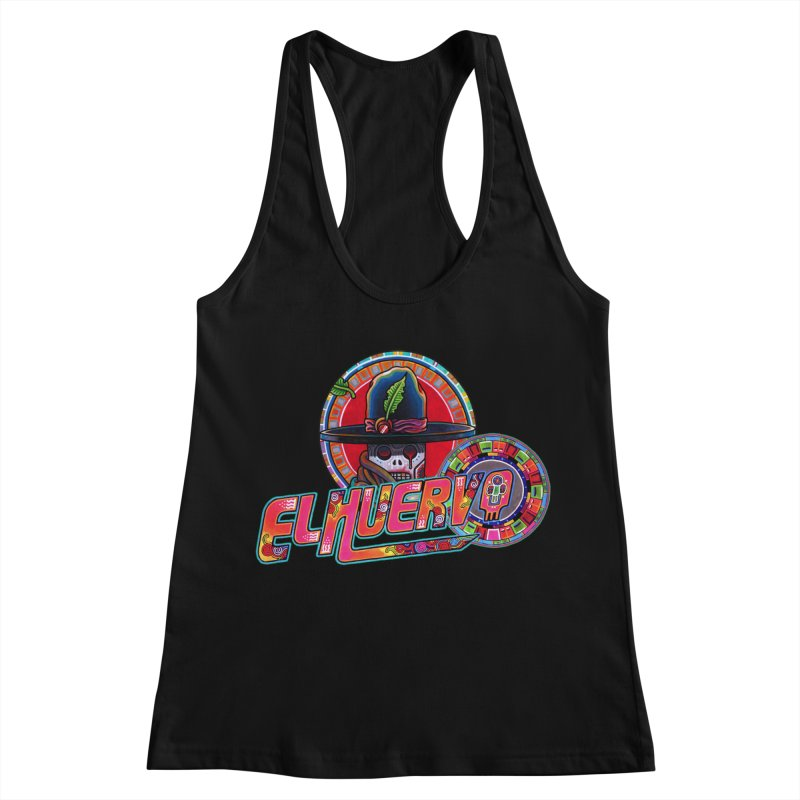 El Huervo - Vandereer Women's Racerback Tank by Swedish Columbia's Artist Shop