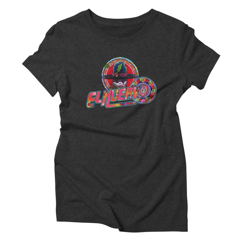 El Huervo - Vandereer Women's Triblend T-Shirt by Swedish Columbia's Artist Shop