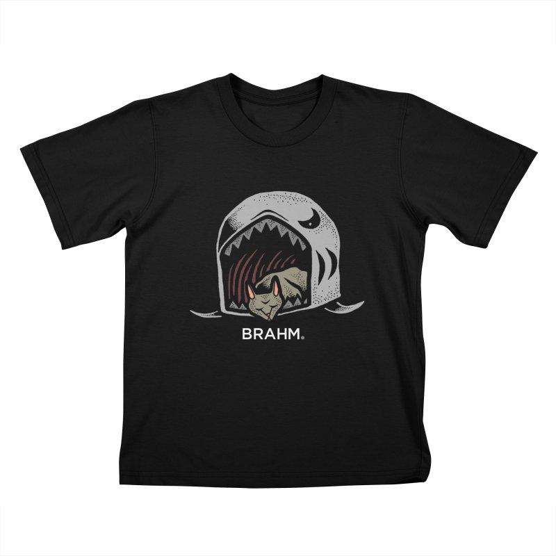 Brahm - Saki-Cat Kids T-Shirt by Swedish Columbia's Artist Shop