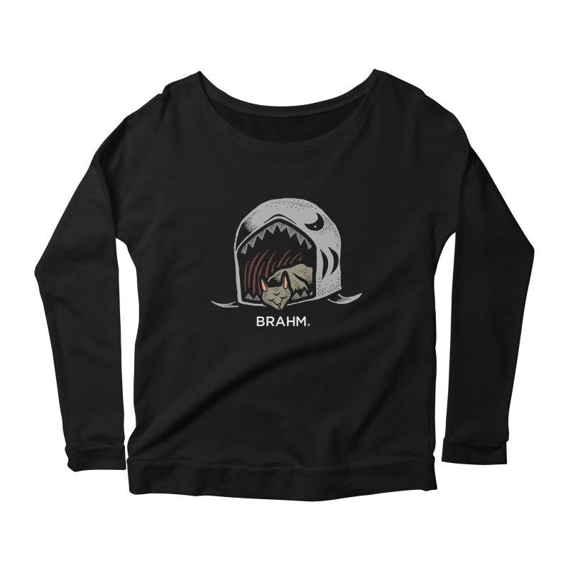 Brahm - Saki-Cat Women's Scoop Neck Longsleeve T-Shirt by Swedish Columbia's Artist Shop