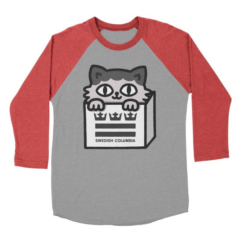Swedish Columbia - Cat in a box Men's Longsleeve T-Shirt by Swedish Columbia's Artist Shop