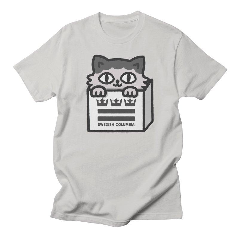 Swedish Columbia - Cat in a box Women's Regular Unisex T-Shirt by Swedish Columbia's Artist Shop