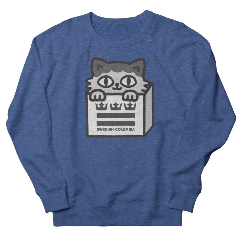 Swedish Columbia - Cat in a box Men's Sweatshirt by Swedish Columbia's Artist Shop