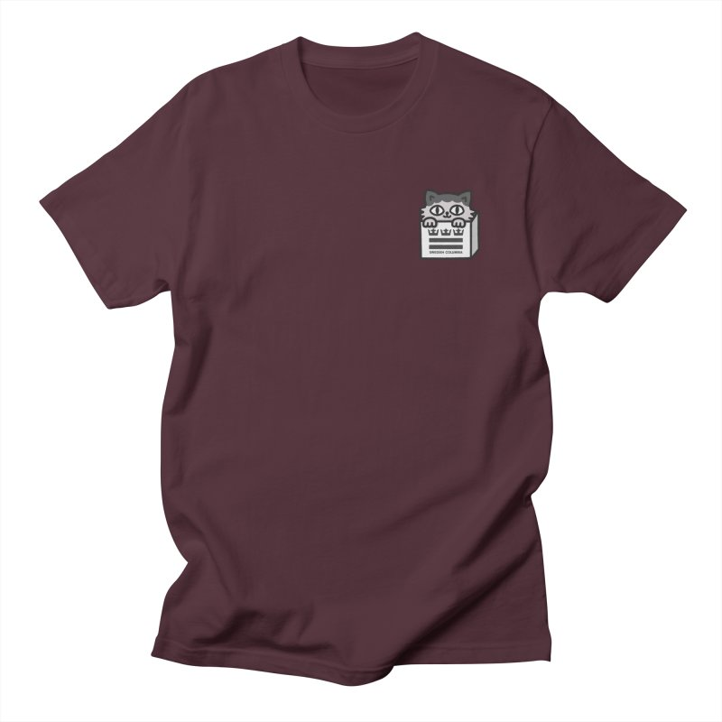 Swedish Columbia cat in a box small Women's Regular Unisex T-Shirt by Swedish Columbia's Artist Shop