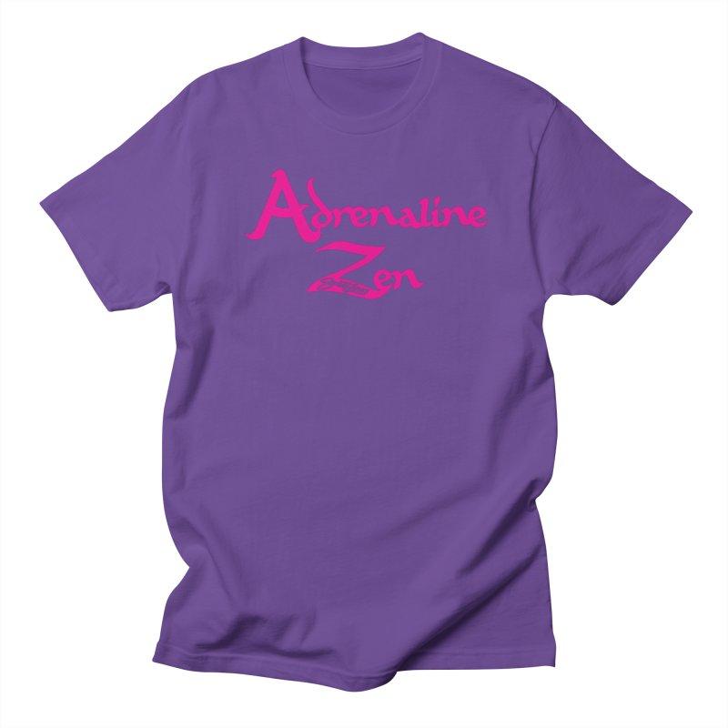 ADRENALINE ZEN PINK Men's Regular T-Shirt by Sweetlines