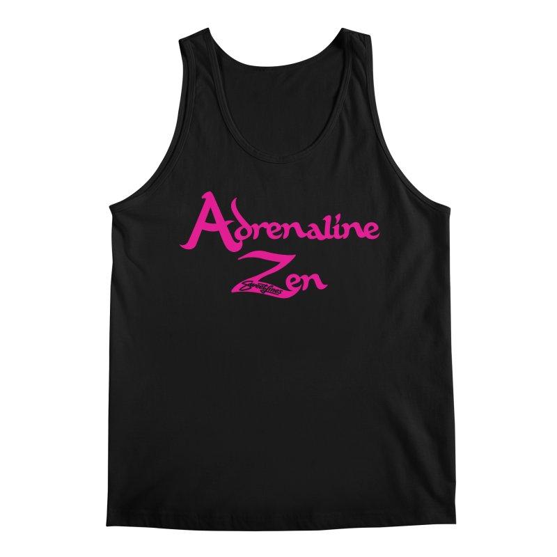 ADRENALINE ZEN PINK Men's Regular Tank by Sweetlines