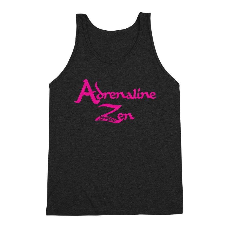 ADRENALINE ZEN PINK Men's Triblend Tank by Sweetlines