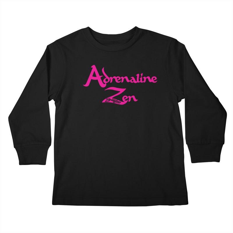 ADRENALINE ZEN PINK Kids Longsleeve T-Shirt by Sweetlines