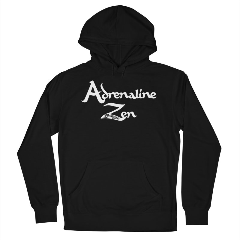 ADRENALINE ZEN BLACK n' WHITE Men's French Terry Pullover Hoody by Sweetlines