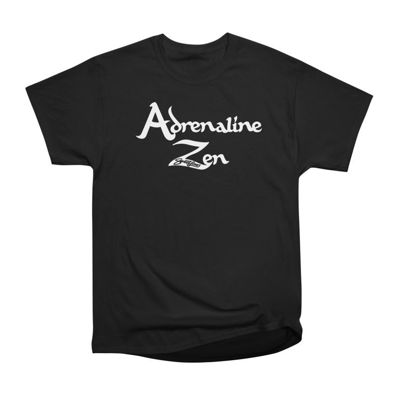 ADRENALINE ZEN BLACK n' WHITE Men's Heavyweight T-Shirt by Sweetlines