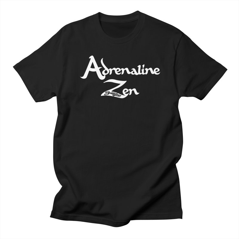 ADRENALINE ZEN BLACK n' WHITE Men's Regular T-Shirt by Sweetlines