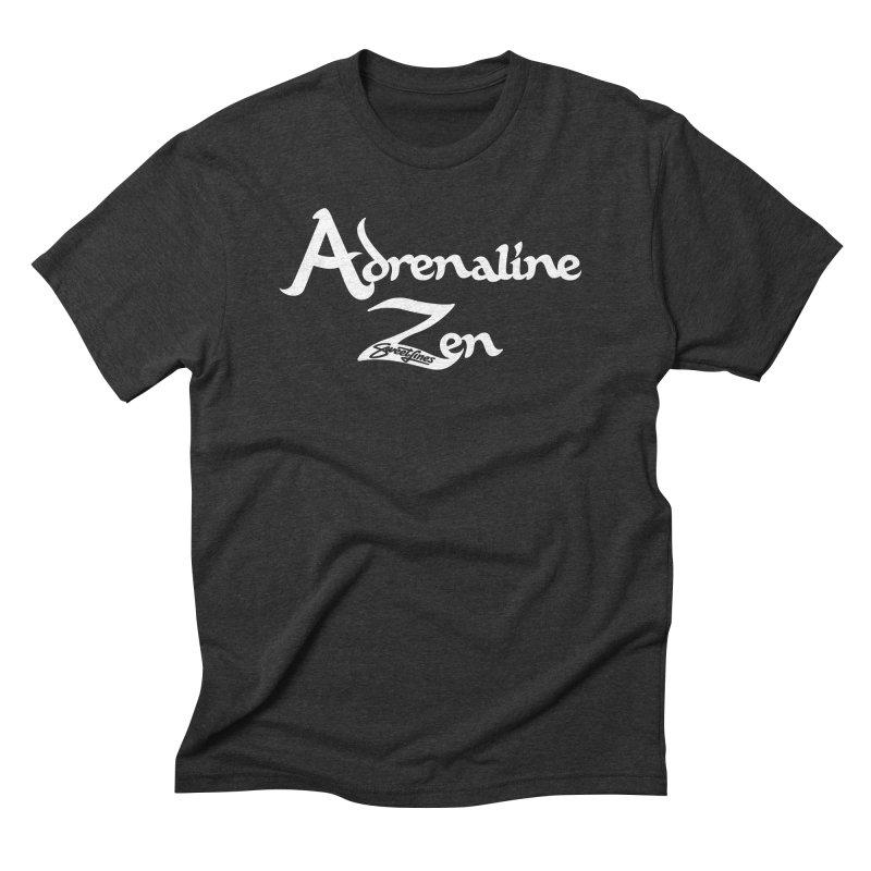 ADRENALINE ZEN BLACK n' WHITE Men's Triblend T-Shirt by Sweetlines