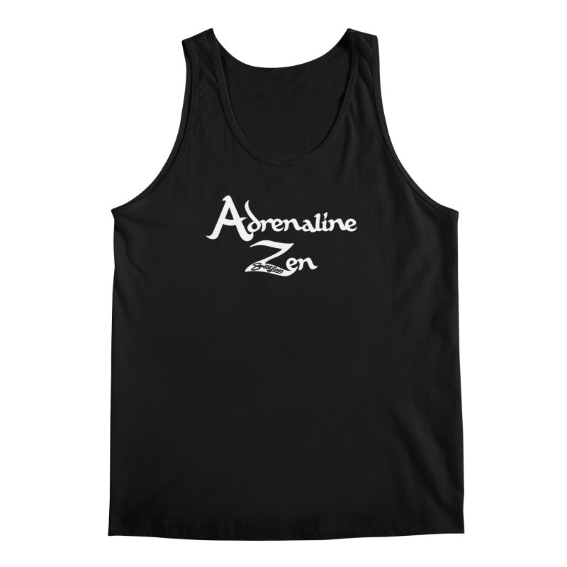 ADRENALINE ZEN BLACK n' WHITE Men's Regular Tank by Sweetlines