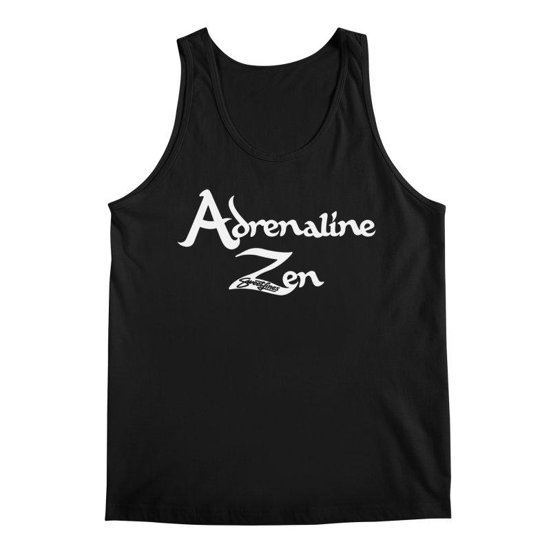 ADRENALINE ZEN BLACK n' WHITE Men's Regular Tank by Sweetlines