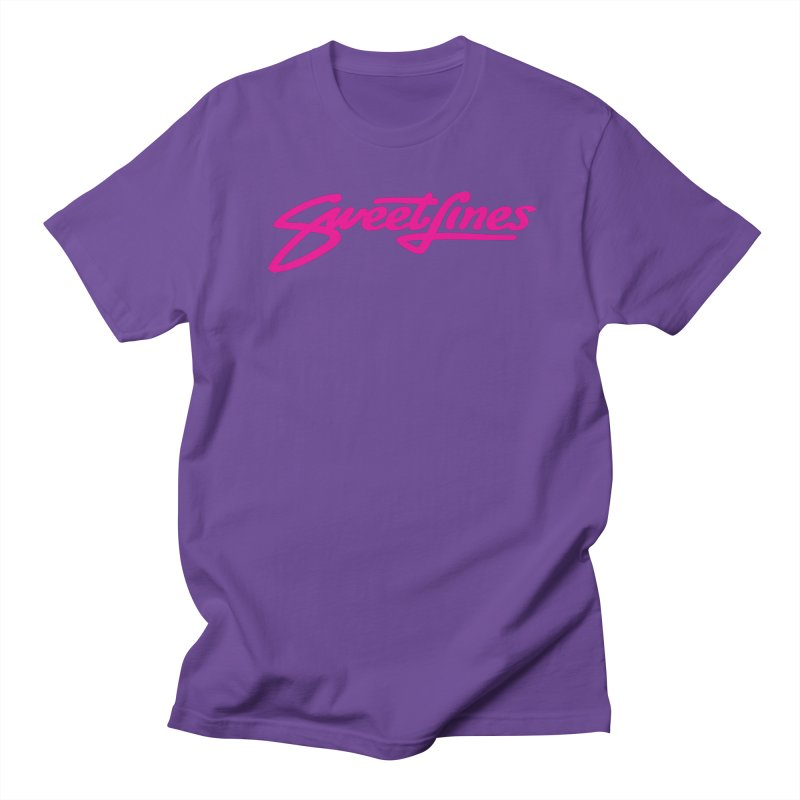 SWEETLINES PINK Women's Regular Unisex T-Shirt by Sweetlines
