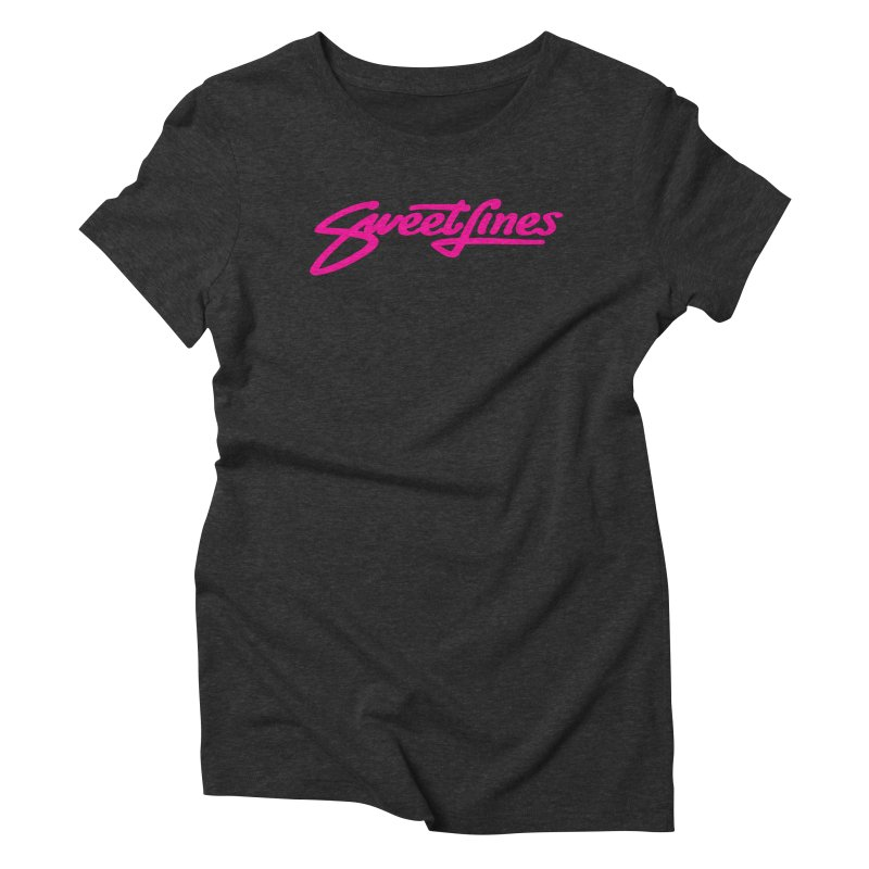 SWEETLINES PINK Women's Triblend T-Shirt by Sweetlines