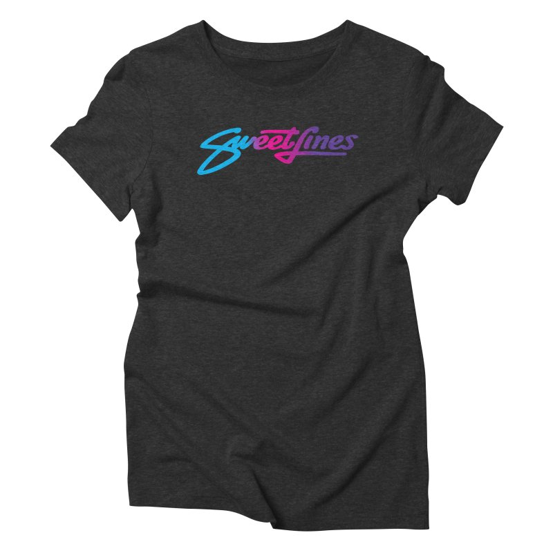 SWEETLINES FADE Women's Triblend T-Shirt by Sweetlines