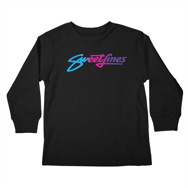 SWEETLINES FADE Kids Longsleeve T-Shirt by Sweetlines