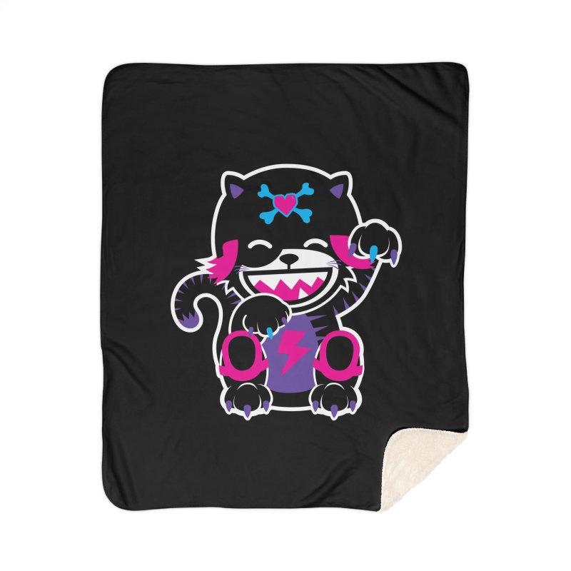 SCRATCH Home Sherpa Blanket Blanket by Sweetlines