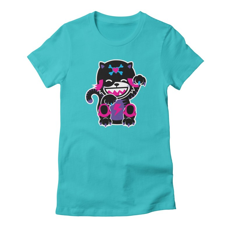 SCRATCH Women's Fitted T-Shirt by Sweetlines