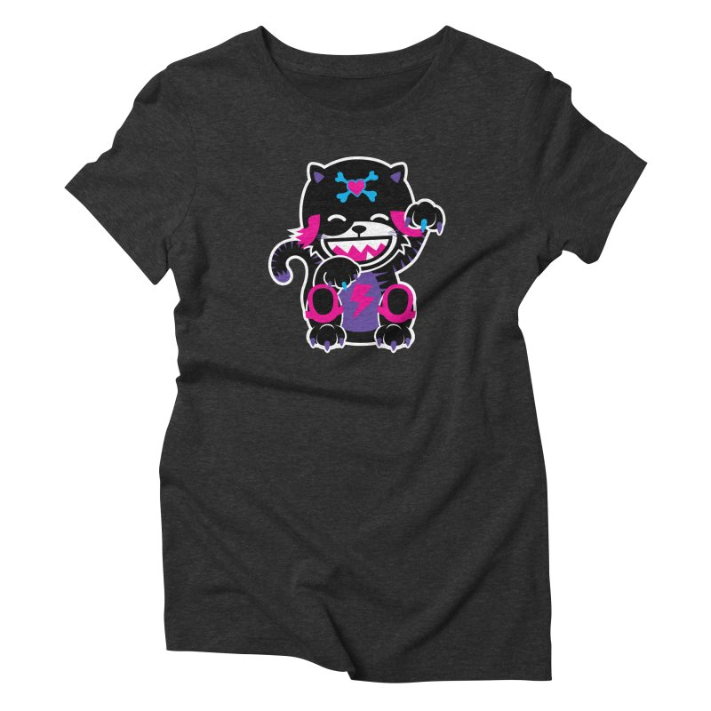 SCRATCH Women's Triblend T-Shirt by Sweetlines