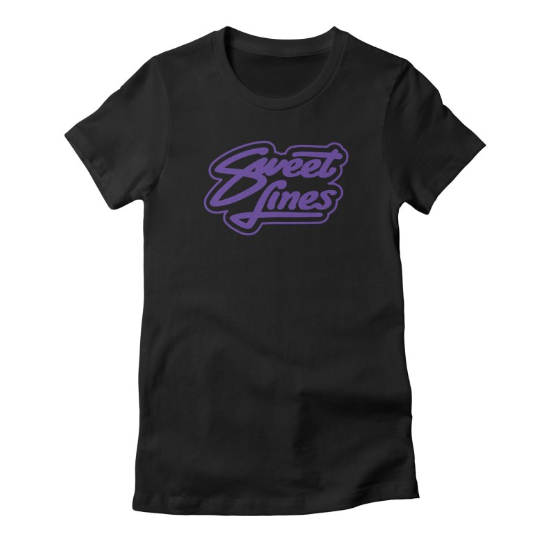 CANDY POP Women's Fitted T-Shirt by Sweetlines