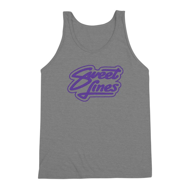 CANDY POP Men's Triblend Tank by Sweetlines