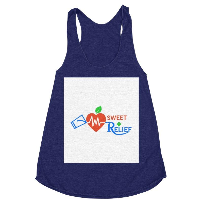 Sweet Relief Women's Racerback Triblend Tank by Sweet Relief Artist Shop
