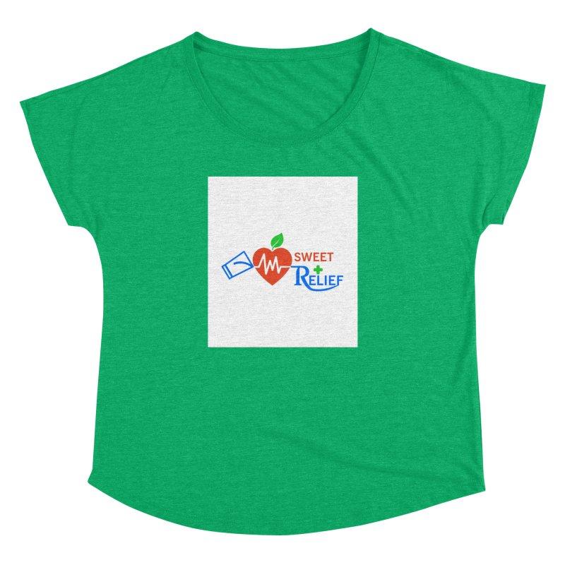 Sweet Relief Women's Dolman Scoop Neck by Sweet Relief Artist Shop