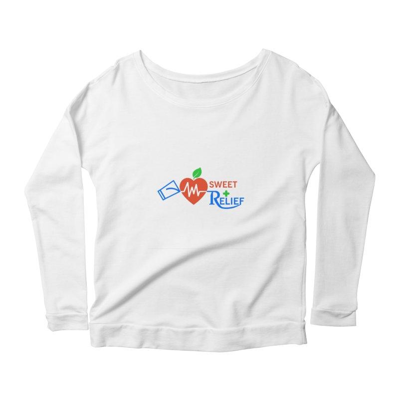 Sweet Relief Women's Scoop Neck Longsleeve T-Shirt by Sweet Relief Artist Shop