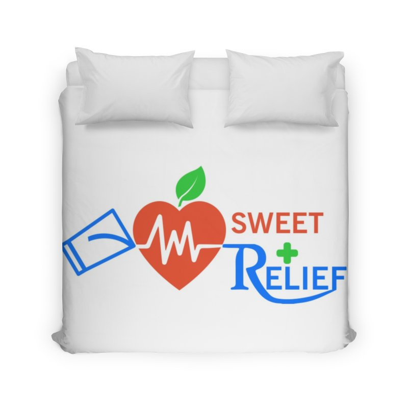 Sweet Relief Home Duvet by Sweet Relief Artist Shop