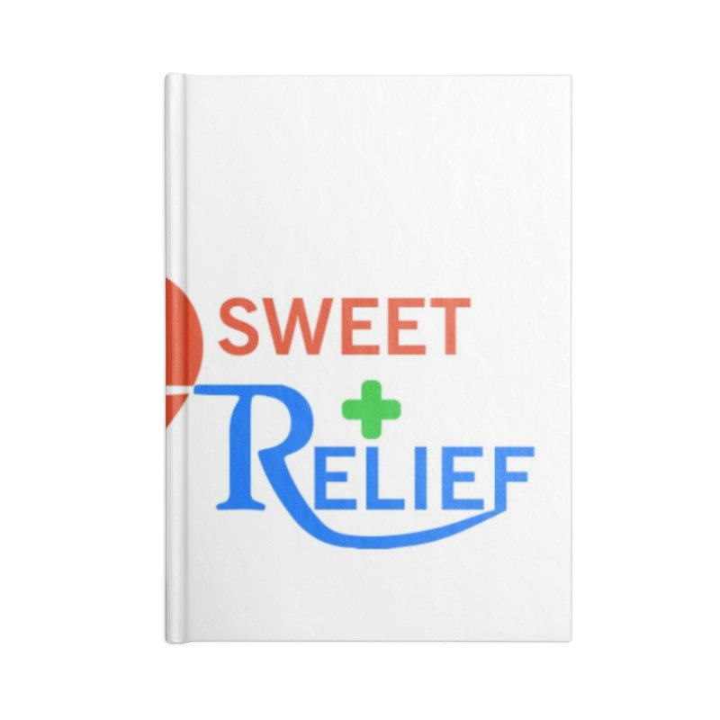 Sweet Relief Accessories Lined Journal Notebook by Sweet Relief Artist Shop