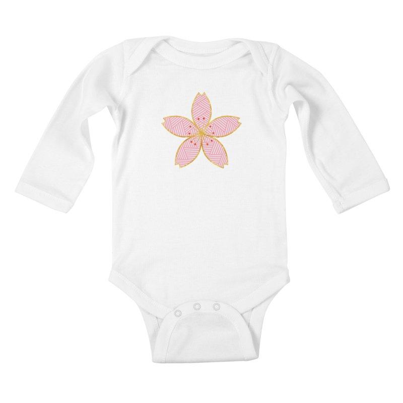 Sakura Kids Baby Longsleeve Bodysuit by SwishySwish