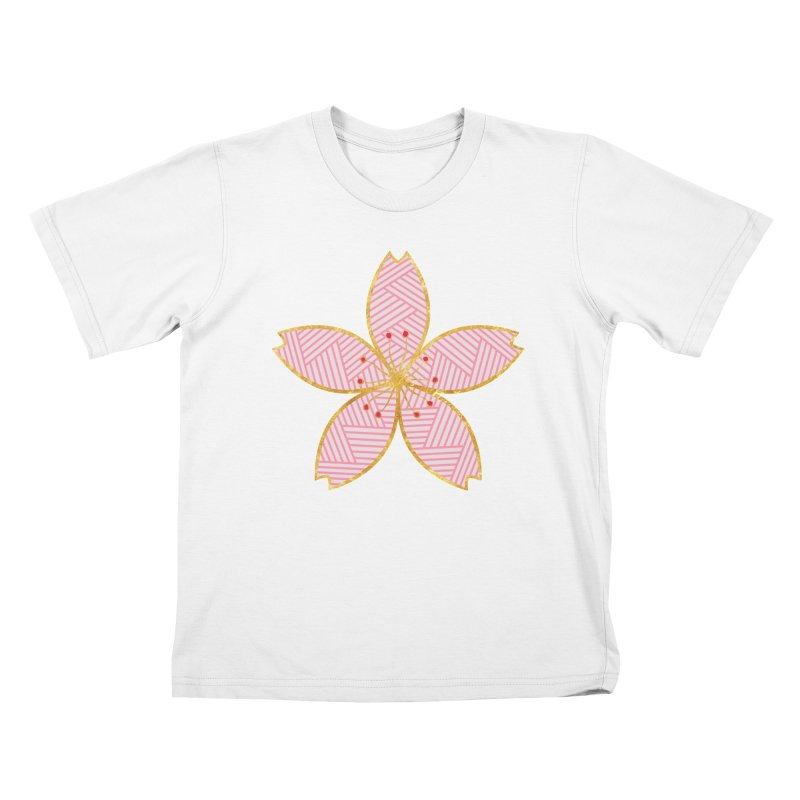 Sakura Kids T-shirt by SwishySwish