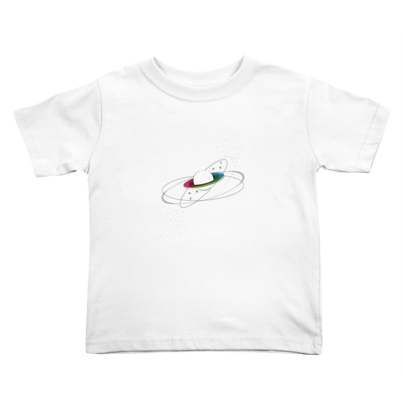 Prismatic Planet Kids Toddler T-Shirt by swissette's Artist Shop