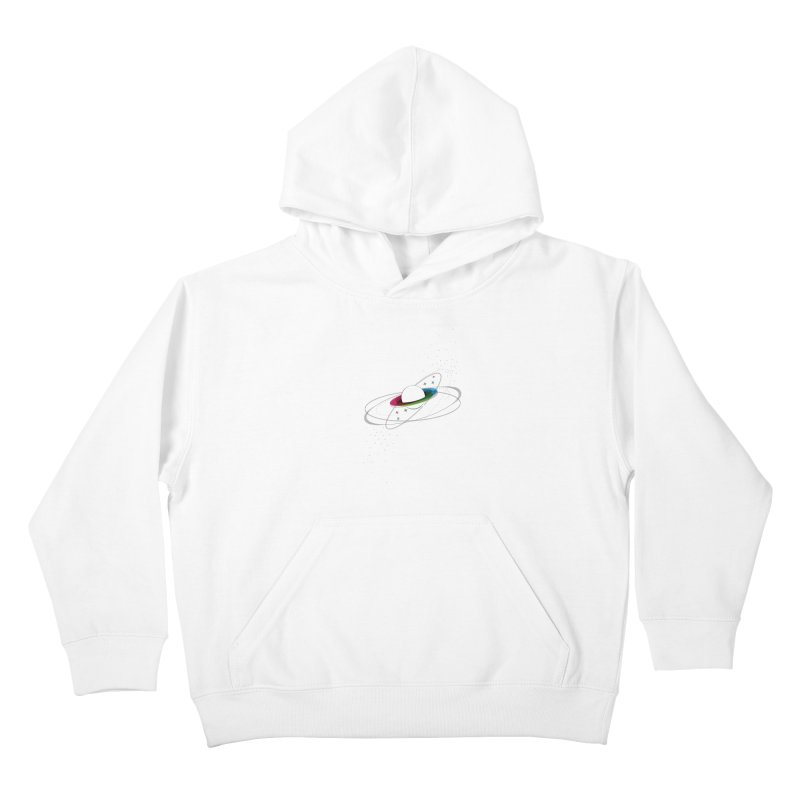 Prismatic Planet Kids Pullover Hoody by swissette's Artist Shop