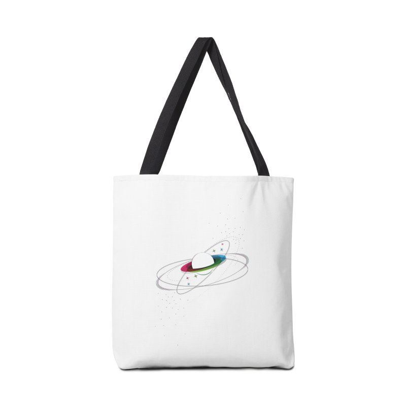 Prismatic Planet Accessories Bag by swissette's Artist Shop