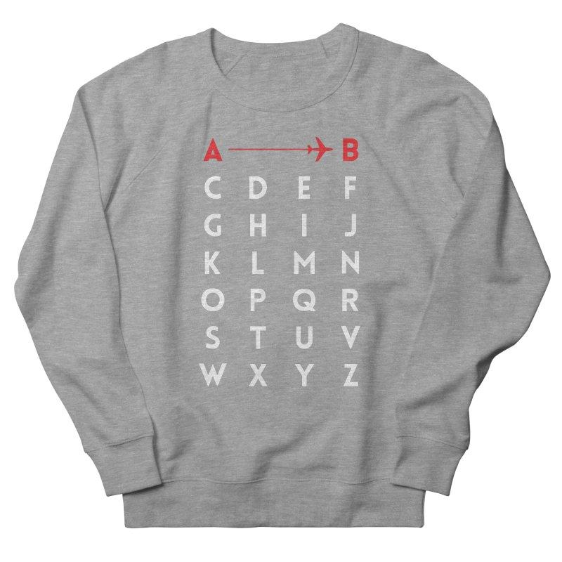 A to B Women's Sweatshirt by swissette's Artist Shop