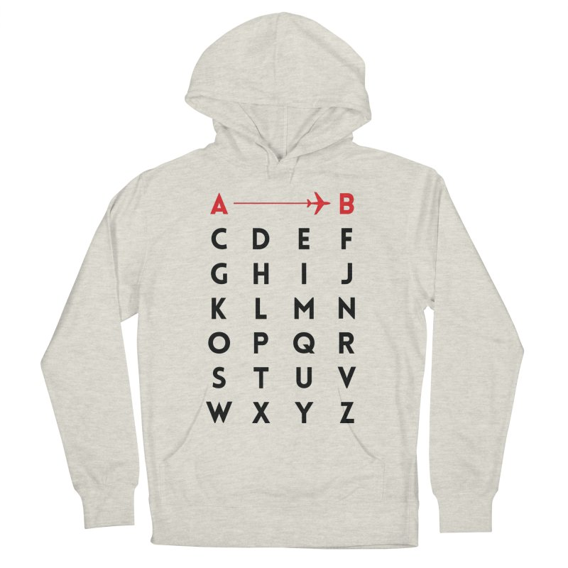 A to B - Original Men's Pullover Hoody by swissette's Artist Shop
