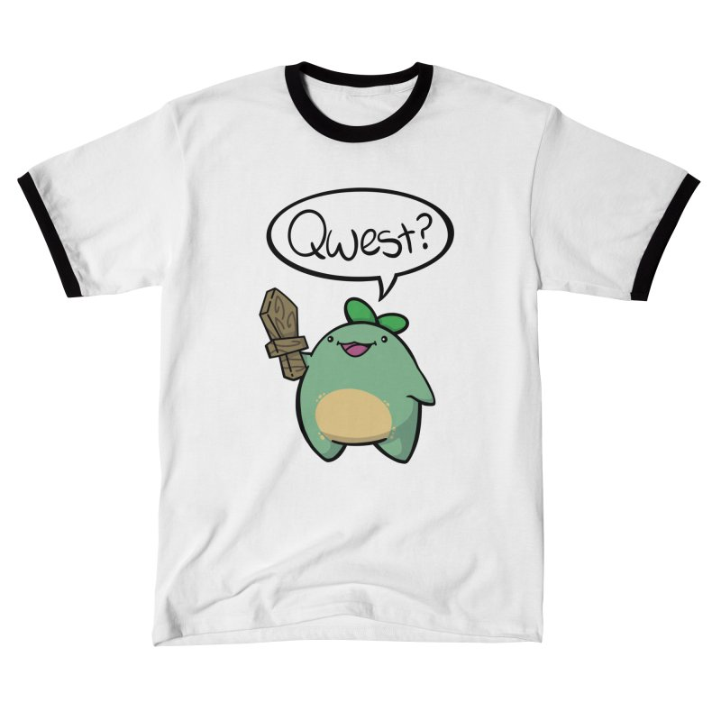Quest Sprout QWEST? Edition Men's T-Shirt by Swords Comics : The Store